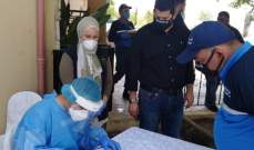فريق طبي لوزارة الصحة جال منطقة صيدا وأجرى فحوصات