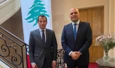 سفير لبنان في فرنسا بحث ونظيره الاماراتي في العلاقات الثنائية