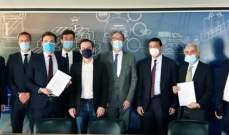 توقيع اتفاقية بين إدارة مرفأ بيروت وشركة فرنسية لاعداد دراسة عن إعادة تدوير الأنقاض في حرم المرفأ