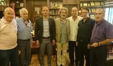 خضر التقى وفدا من الجمعيات البيئية والسياحية في بعلبك