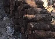 الجيش عثر على قذائف قديمة العهد في الخيام