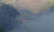 """النشرة: اخماد حريق هشير خلف """"كاليري ديما"""" في تعمير حارة صيدا"""