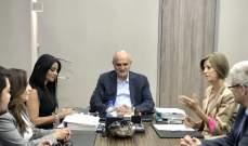 وزير المال استقبل وفودا من بشري ونواب عكار ووزارة الزراعة