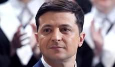 حزب زيلينسكي يتصدر الانتخابات الأوكرانية بـ44% من الأصوات