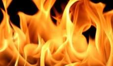 الدفاع المدني: إخماد حريق داخل منشرة وشقة في ميس الجبل