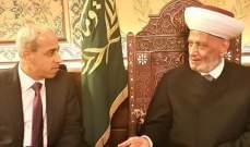 المفتي دريان استقبل سفير باكستان وطلال المرعبي واللواء خير
