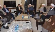 الشيخ الخطيب دعا ايران إلى تحقيق المزيد من الانتصار والتقدم