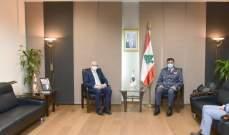 اللواء عثمان استقبل السفيرين المصري والألماني