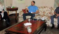 الحريري بحثت في التطورات المتصلة بقرار وزارة العمل وانعكاسها على صيدا