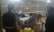 النشرة: دورية من أمن الدولة داهمت احد المطاعم قرب المسامك في منطقة العقيبة