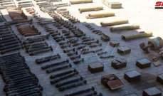 العثور على ذخائر واجهزة اتصالات من مخلفات داعش بريف دير الزور