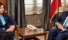 بري التقى سفيرة قبرص وعرض الاوضاع المالية مع جمعية المصارف
