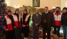 ممثل الهلال الاحمر الايراني بلبنان زار مدير عام مستشفى الشيخ راغب حرب