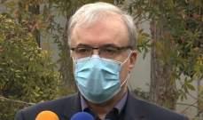 وزير الصحة الإيراني: سنصبح أحد أكبر مصنّعي اللقاحات ومصدريها بالربيع المقبل