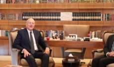 ميقاتي أكد لشنكر تمسك لبنان بالقرار الدولي رقم 1701