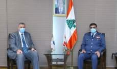 عثمان عرض الاوضاع العامة في البلاد مع كوبيتش