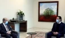 رئاسة الجمهورية: الحريري لم يأت بأي جديد على الصعيد الحكومي