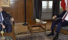 بري التقى ميقاتي وسفيرة كندا في زيارة وداعية وتلقى برقية من نظيره الإيراني