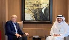 ميقاتي استقبل سفير قطر وبحث معه الاوضاع