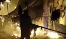 مقتل اثنين من المهاجرين في حريق بمخيم لاجئين باليونان واندلاع اشتباكات