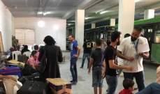النشرة: مغادرة 63 نازحاً سورياً لبنان عائدين إلى بلدهم من صيدا