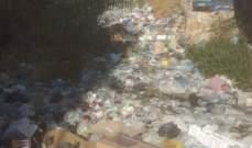 نهر الغدير يطوف بالنفايات والسكان يتحملون المسؤولية؟!