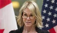 سفيرة أميركا بالأمم المتحدة: ندعو تركيا لوقف هجومها في شمال شرق سوريا