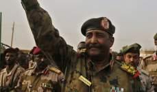 البرهان: كنا نرغبها فترة انتقالية عسكرية خالصة