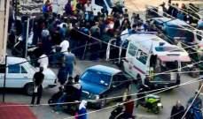 ثلاثة جرحى بحادث سير بين سيارة ودراجة نارية في طرابلس