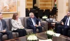 NBN: الحريري طلب من سفراء الدول الخمس الضغط على اسرائيل لوقف اعمالها العدوانية