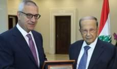 الرئيس عون استقبل القاضي فهد ووفدا من الهيئة التنفيذية لرابطة الأساتذة المتفرغين باللبنانية