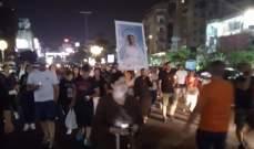 مسيرة صلاة تنضم الى المعتصمين على اوتوستراد جونيه