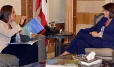 الحسن التقت وفدين من زحلة ووادي خالد وممثلة منظمة الصحة العالمية