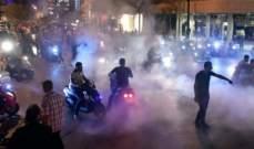فض الاعتصام في وسط بيروت بعد تدخل الجيش