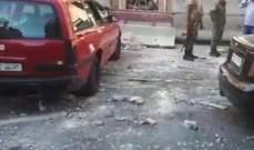 سانا: مقتل مدني وإصابة آخر بانفجار عبوة زرعها إرهابيون بسيارة في دمشق