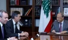 الرئيس عون: عودة النازحين الطوعية والآمنة من لبنان شملت 276 الف نازح