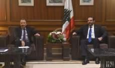 """مصادر """"لبنان القوي"""" لـLBC: باسيل التقى الحريري ليلا والتكتل بانتظار الدعوة لجلسة حكومة"""
