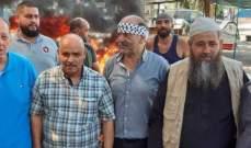 النشرة: تواصل الاحتجاجات في عين الحلوة وتمدده الى المية ومية ووداي الزينة