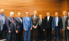 الخازن زار رئيس مجلس القضاء الأعلى: لنا كل الأمل بأن ينجح عبود بمهامه