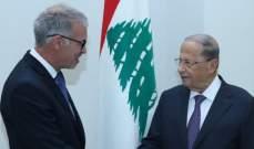 الرئيس عون: التعاون بين المجلسين الاقتصاديين اللبناني والفرنسي يطور الاداء وتبادل الخبرات