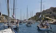 32 سفينة أبحرت من فرنسا الى لبنان لدعم ومساندة مسيحيي الشرق الأوسط