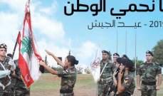 الهيئة الوطنيّة لشؤون المرأة اللّبنانيّة تهنئ الجيش بعيده