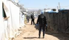 الأمن العام: تعقيم 72 مخيماً للنازحين السوريين والمخيمات الزراعية بهدف الوقاية من كورونا