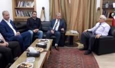 النائب طعمة هنأ سعد بانتخابه رئيسا للحزب السوري القومي الاجتماعي