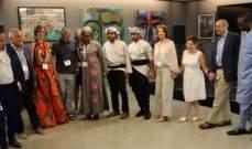 متحف فلسطين في اميركا يجمع سفراء الأمم المتحدة بدعوة من سفير فلسطين