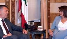 الحسن عرضت مع لازاريني الدعم اللوجستي والتقني للانتخابات