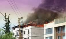 الدفاع المدني: إخماد حريق بنى سكني في وادي شحرور وآخر داخل شقة في الشويفات