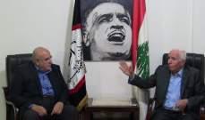الاحمد: الوضع بما يتعلق بالتصدي للخطة الاميركية الاسرائيلية حرج جدا