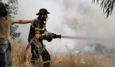 النشرة: الدفاع المدني يعمل على إخماد حريق بمكب النفايات في الهبارية