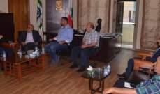 أفيوني زار بلدية طرابلس: إتفقنا على اطلاق البلدية الإلكترونية لتحقيق تطلعات الطرابلسيين